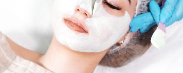 woman receiving skincare service in charlotte, nc