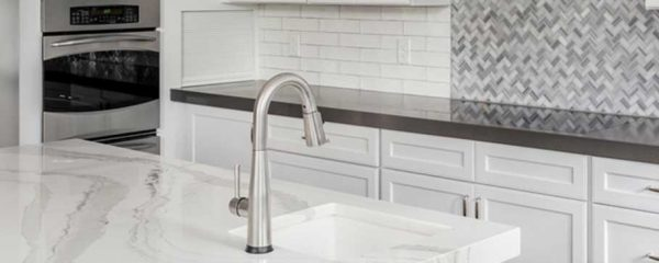 installation completed by countertop company for sale